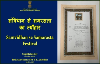 Celebrating the spirit of Indian Constitution 'PART 1'