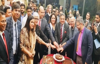 Christmas Day celebrations at India House in Bern on Dec 26, 2019