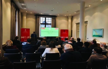 Momentum in India - Swiss SMEs Program : Workshop in Basel, Switzerland on Feb3, 2020 by Embassy of India.