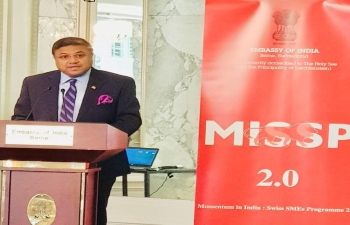 Momentum in India- Swiss SMEs Program: Workshop organized by Embassy of India in Bern on Feb 7, 2020