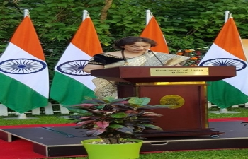 74th Independence Day Celebrations of Embassy of India, Berne on 15th August, 2020