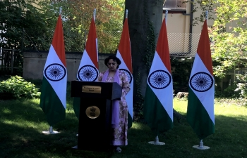 Sadbhavana Diwas celebrated by Embassy of India, Berne on 20th August, 2020