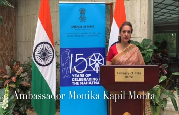 Gandhi@150 celebrations : Gandhi Katha in Switzerland