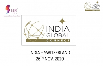 A Virtual Business Event connecting Gems & Jewelry industry of India & Switzerland, on November 26, 2020