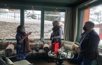 Ambassador of India meeting held with Mayor of Zermatt on Jan 12, 2021