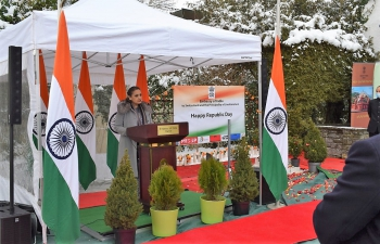 Celebration of 72nd Republic Day of India
