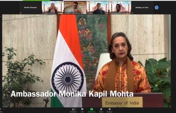 Inaugural address by Ambassador Monika Kapil Mohta at Focus India Seminar 2021