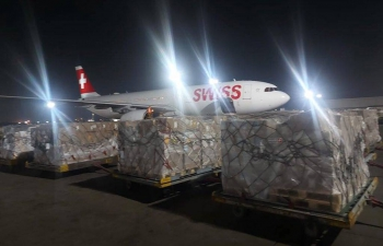 Switzerland supports India's fight against Covid-19