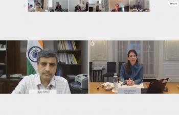 4th India-Switzerland Financial Dialogue held virtually on 11 May, 2021