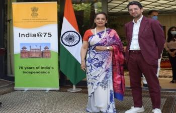 India at 75