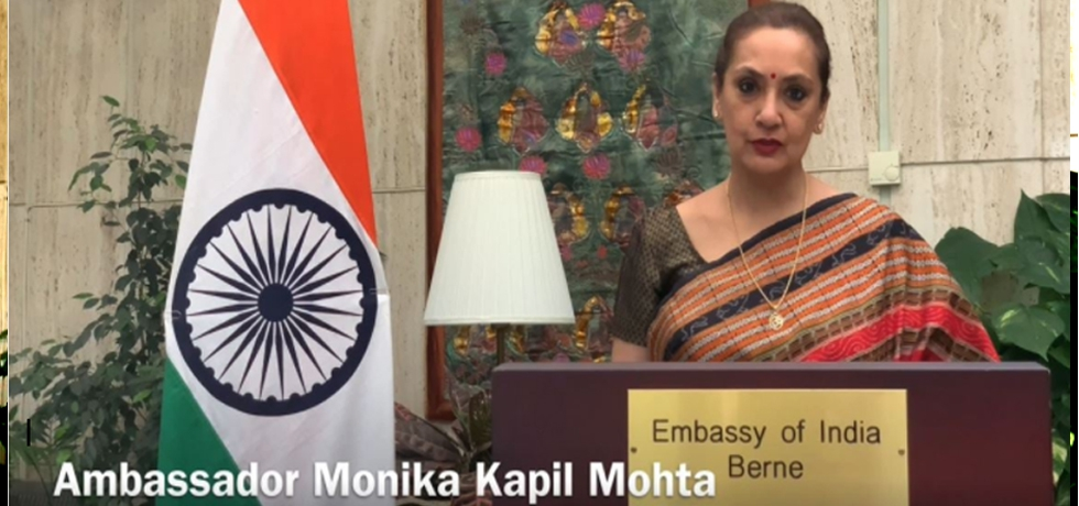 Ambassador Ms. Monika Kapil Mohta speech at an exclusive Cultural Gala conducted as part of the celebrations of 75 years of India's Independence on 26 March, 2021