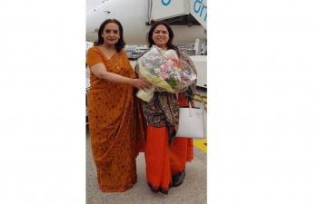 Visit of Hon'ble Minister of State for External Affairs and Culture H.E. Smt. Meenakashi Lekhi to Switzerland (September 27 – October 1, 2021)