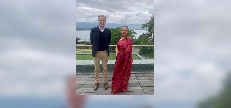 Ambassador Monika Kapil Mohta had a meeting with Mr. Borge Brende, President, World Economic Forum